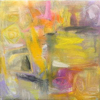"""Abstract Oil Painting by Trixie Pitts """"Provence"""""""