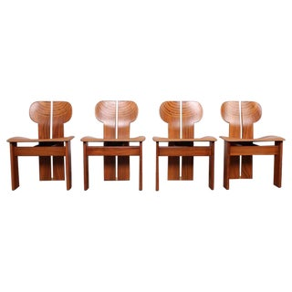 Four Africa Chairs by Afra & Tobia Scarpa