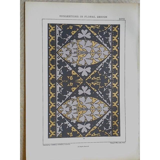 Image of Ornamental Design Folio Size Chromolithograph - 2