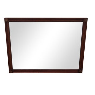 Kindel Vintage Fruitwood French Style Wall Mirror
