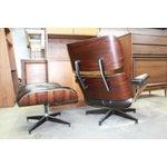 Image of Rosewood Herman Miller Eames Lounge & Ottoman 670
