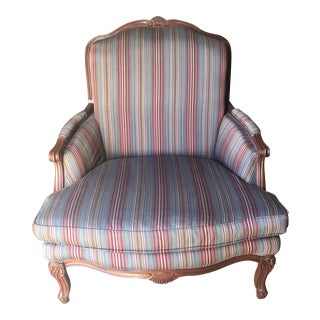Louis XV French Bergere Armchair