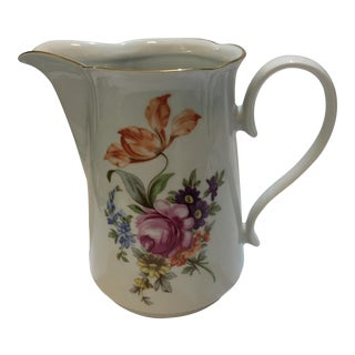 Vintage German Porcelain Jug