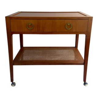 Wormley Style Bar Serving Cart Mid Century Modern
