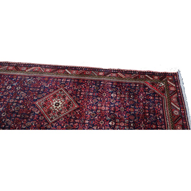 Hand Knotted Persian Wool Area Rug 5′ × 10′ - Image 4 of 5