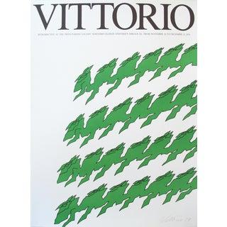 1979 Exhibition Poster Swan Parson Gallery, Vittorio