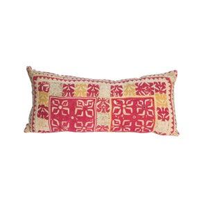 Vintage Boho Patchwork Pillow