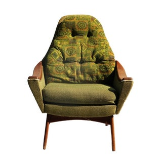 Mid-Century Modern Adrian Pearsall Style Arm Chair