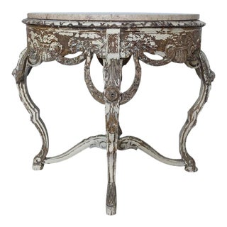 French Painted Louis XV Style Table, circa 1900
