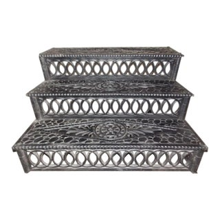 Antique Cast Iron Steps