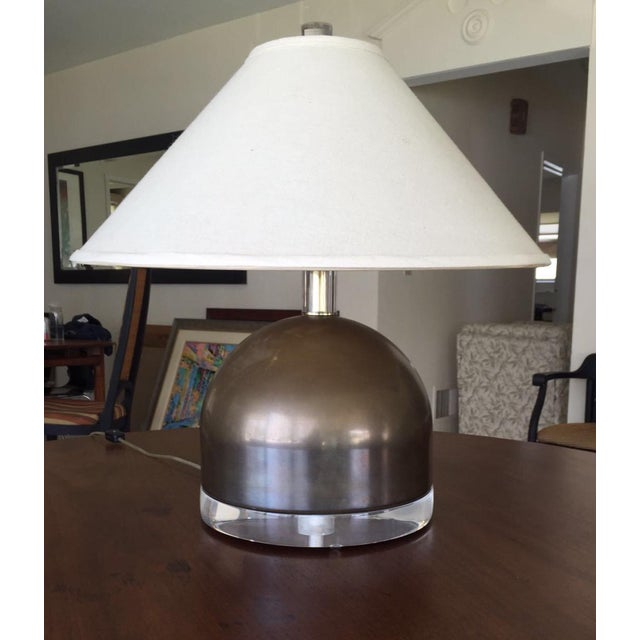 Mid-Century Squat Table Lamp - Image 2 of 6