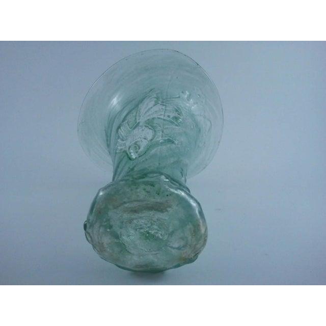 Mould-Blown Art Glass Goldfish Vase - Image 5 of 5