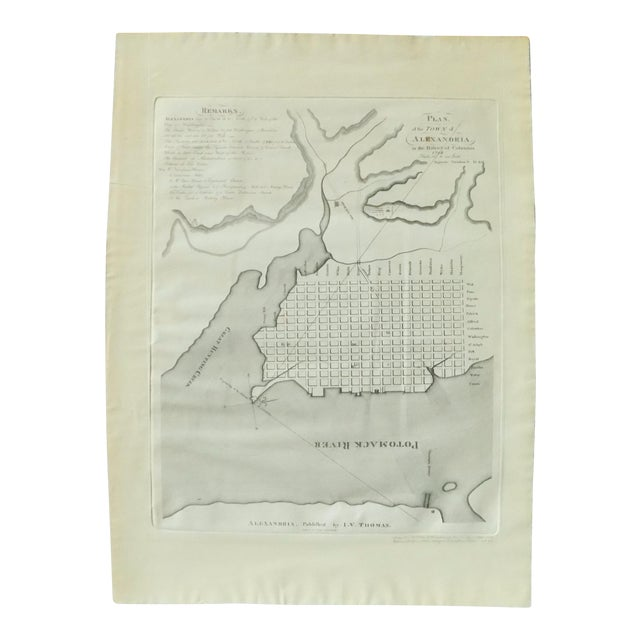 1944 Alexandria, Virginia Town Plan - Image 1 of 7