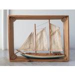 Image of Vintage Sailboat Nautical Decorative Item