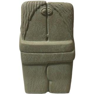 C. Brancusi The Kiss Sculpture Reproduction