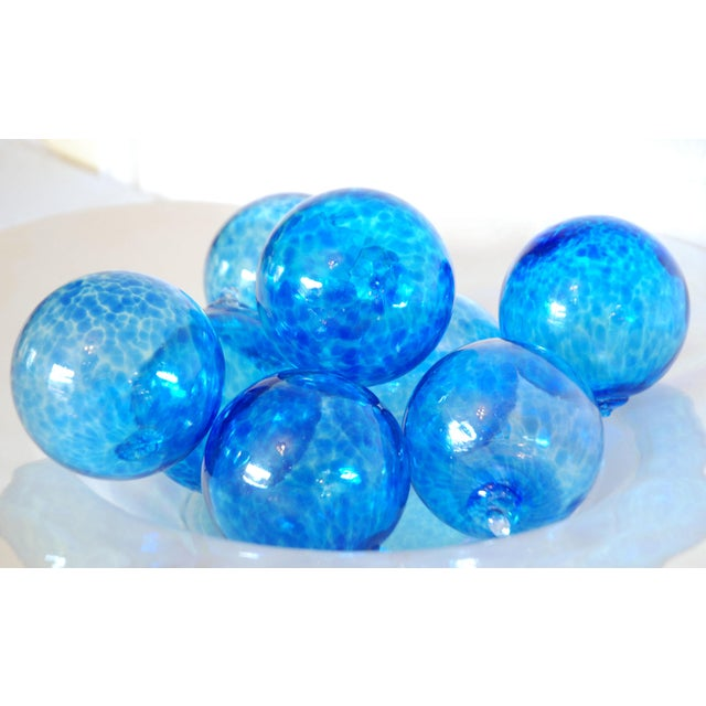 Iridescent Glass Bowl & Glass Balls - Image 7 of 9