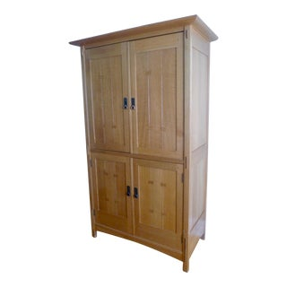 Stickley Mission Oak Armoire