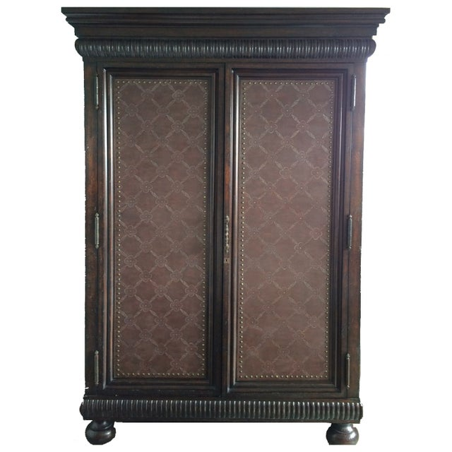 Image of Ralph Lauren Florence Armoire or Tv Cabinet