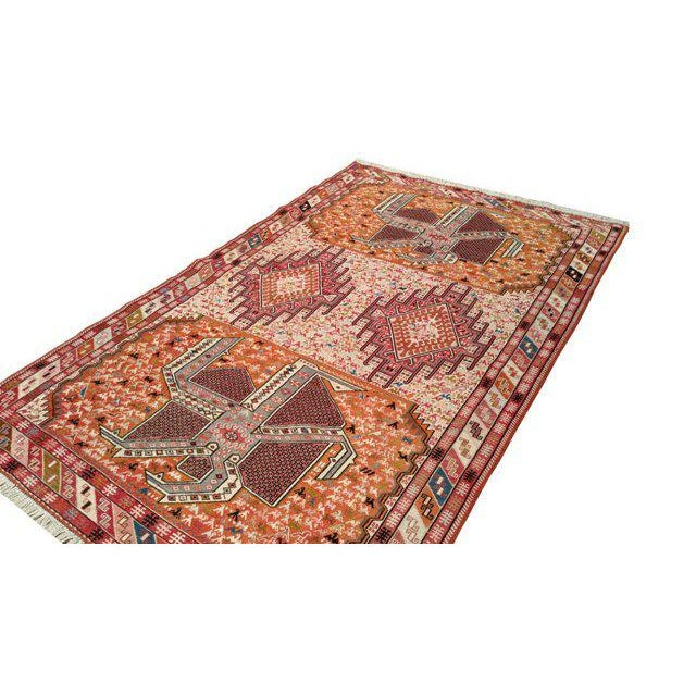 4′ × 6′6″ Silk Persian Hand Made Knotted Rug - Size Cat. 4x6 - Image 3 of 4