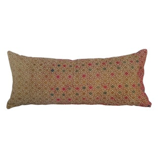 Hill Tribe Silk Embroidered Pillow