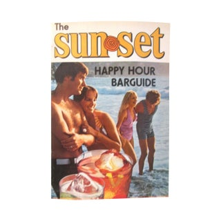 Retro Sunset Happy Hour Bar Guide