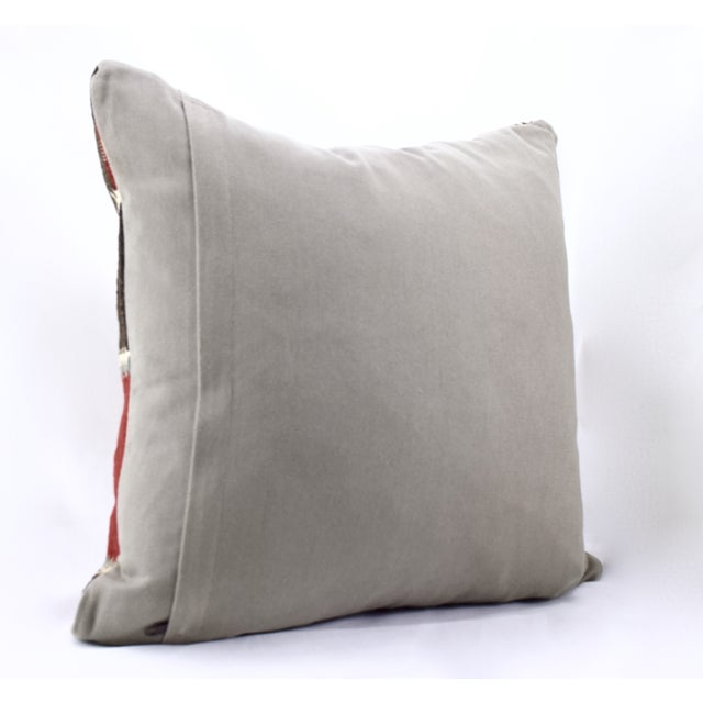 Oversized Kilim Accent Pillow - Image 6 of 8