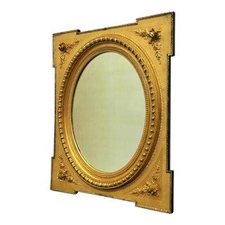 19th Century Italian Gilded Mirror