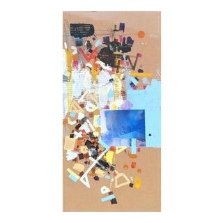 """""""A Sky Kameelahh"""" Acrylic on Cardboard"""
