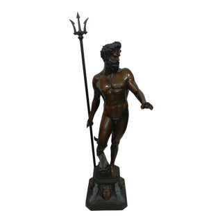 Bronze NeptuneWith Triton Fountain