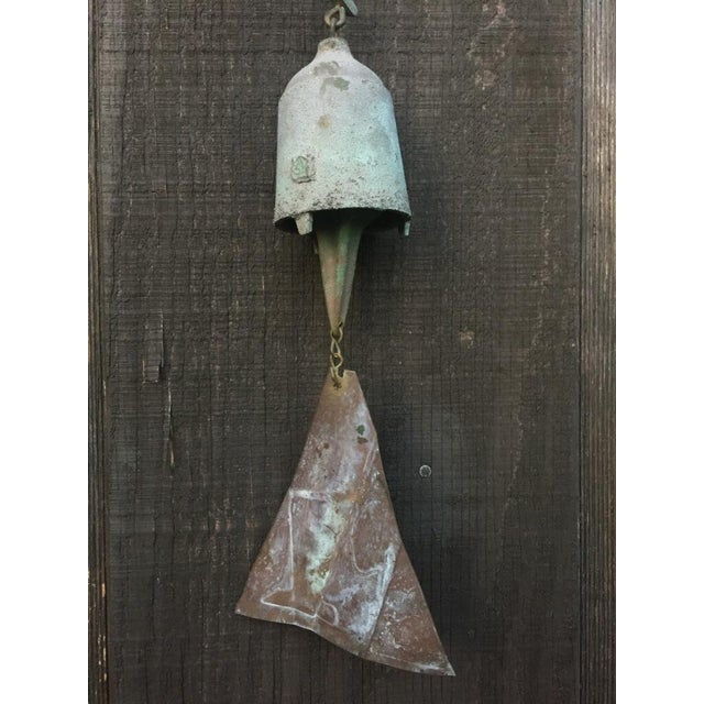 Paolo Soleri Bronze & Copper Fin Wind Bell - Image 6 of 11
