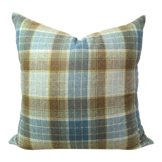 Tartan Plaid Wool Pillow Cover