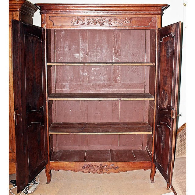 18th C. French Country Armoire - Image 6 of 11