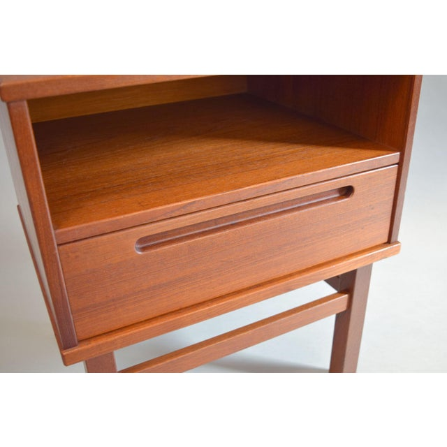 Nils Jonsson Teak Nightstand or Side Table - Image 4 of 8
