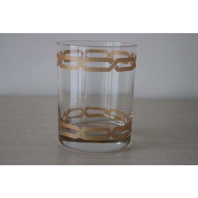 Image of Golden Link Highballs - Set of 4