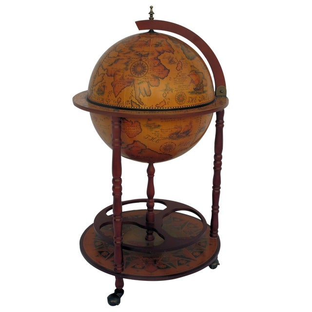 1960s Italian Globe Bar - Image 1 of 8