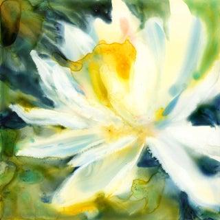 Water Lily Original Watercolor Painting