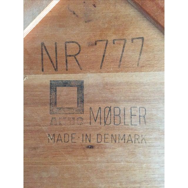 Mobler Teak Pedestal Dining Table - Image 8 of 8