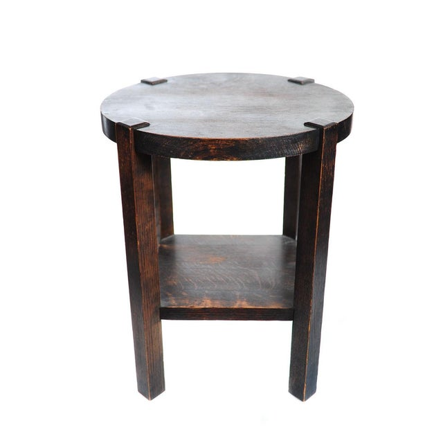Arts & Crafts Mission Oak Coffee Table C.1910 - Image 1 of 8