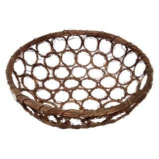 Copper Wire Art Bowl