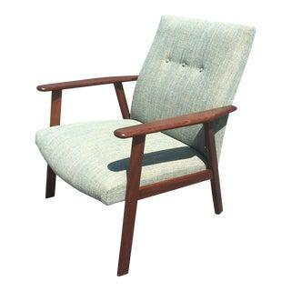 Mid-Century Danish Modern Teak Lounge Chair