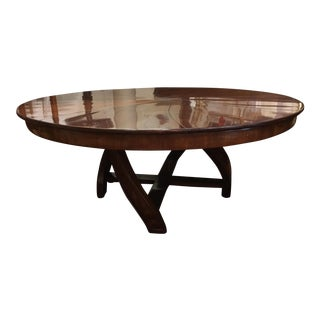 l'Rossi Expanding Round Dining Table