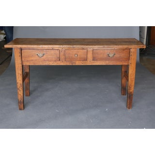 19th Century Narrow Console or Sofa Table