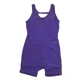 Modern Purple Spaulding One Piece