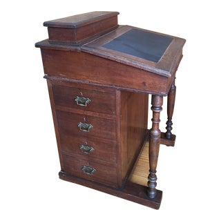 1870's English Antique Ship Captain Desk
