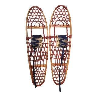 Vintage L.L. Bean Snowshoes - A Pair