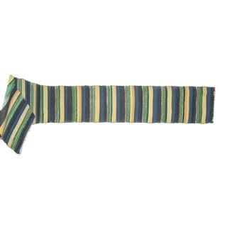 Vintage Swedish Handwoven Rug - 2′1″ × 15′5″