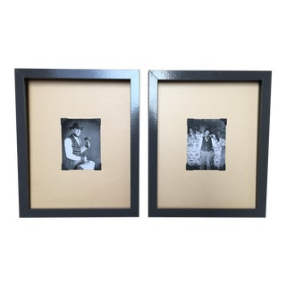 Framed Daguerreotype Prints - A Pair