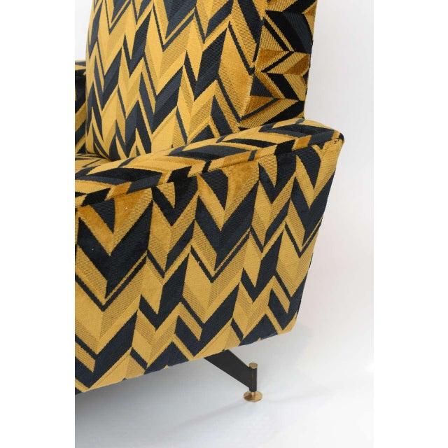 Original Pair of Lounge Chairs by Osvaldo Borsani - Image 4 of 6