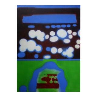 """""""Rocky Image II"""" Original Painting by Erle Loran"""