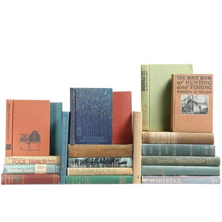Cabin Book Selections - Set of 20